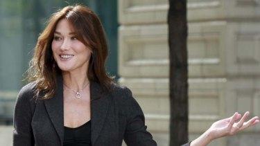Carla Bruni-Sarkozy ... daugher Giulia was born October 19.