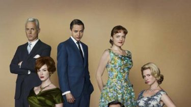 New breed of SBS show ... Mad Men.