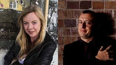 State of play ... writer Suzie Miller and director Tom Wright differ on boys' club theory.
