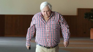 """""""There is no evidence that Clive Palmer's companies have been penalised""""."""