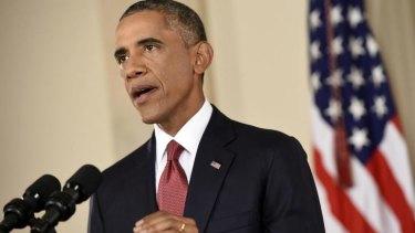 Plea for calm: US President Barack Obama wants states to reconsider Ebola quarantines.