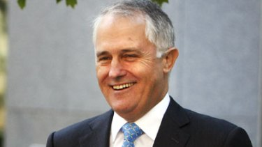 Quitting politics ... Malcolm Turnbull photographed in Canberra last month.