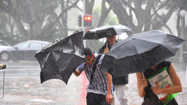 A weekend of wild wet weather hits parts of NSW.