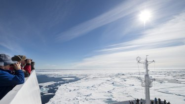 Record low reached for Arctic ice.