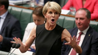 Ms Bishop was said to be furious about the spending by DFAT of more than $200,000 sending 22 officials to Paris for a conference on how to save money.