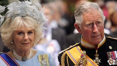 Attended the ceremony: Britain's Prince Charles and his wife Camilla, Duchess of Cornwall.