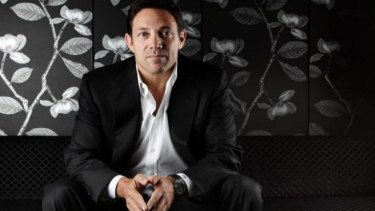 <i>The Wolf of Wall Street</i>'s real Jordan Belfort.