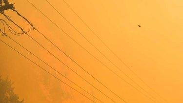 Parkerville bushfire
