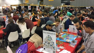 PAX Australia put aside more space this year for people wanting to roadtest tabletop games.