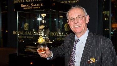 "Master blender Colin Scott, the creator of Royal Salute's ""Tribute To Honour""."