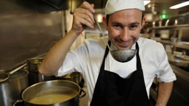 Michael Katz is dishing up the merits of Israeli cuisine in Melbourne.