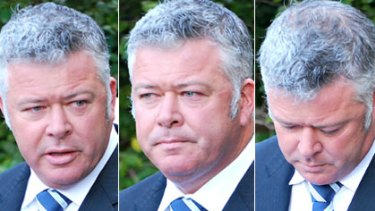 Troy Buswell fronts the media to admit a four-month affair with Greens MP Adele Carles.