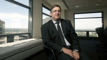 Future Fund managing director Mark Burgess.