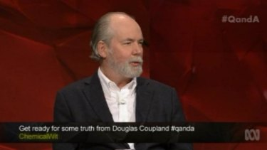 """""""We've never been smarter as a species but we've never felt stupider"""" ... Canadian novelist Douglas Coupland says our  enslavement to the online universe is irreversible."""
