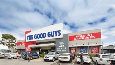 The Good Guys store in Old Geelong Road.