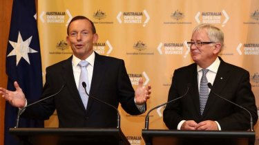 Prime Minister Tony Abbott and Trade Minister Andrew Robb have plans to progress free trade with China, Japan and South Korea.