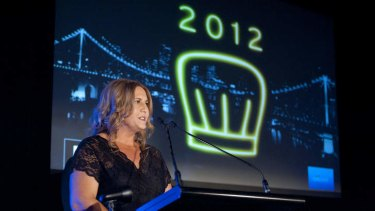 Editor Natascha Mirosch at the launch of the 2012 edition of the brisbanetimes.com.au Queensland Good Food Guide.