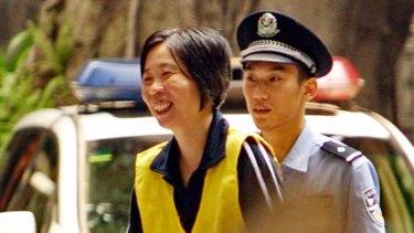 Australian Charlotte Chou, also convicted.