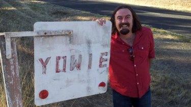 Beware the yowie: Filmmaker Dane Millard's new film sees something weird in the bush.