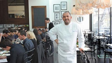 Guillaume Brahimi is banking on a more affordable menu for his restaurant's second foray at Crown.