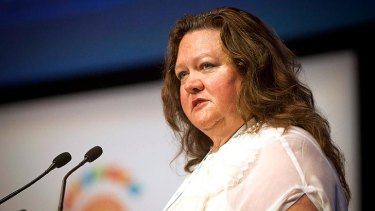 Gina Rinehart lost $7.15 billion in the past year, according the BRW Rich 200 list.