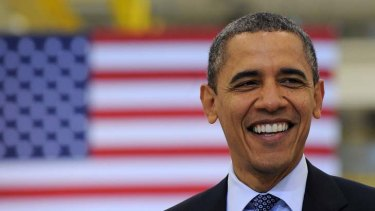 US President Barack Obama ... every strong month of hiring undermines arguments from Republicans that Mr Obama has failed to deliver on  the economy.