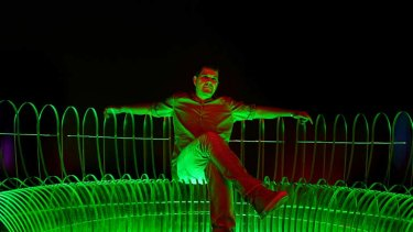 """Hit the switch . . . the Vivid Sydney music curator, Stephen Pavlovic, has lined up Austrlian and international acts to perform as part of the festival of """"light, music and ideas""""."""