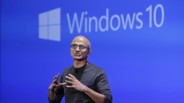 Microsoft CEO Satya Nadella, whose company has confirmed its overall effective tax rate was well below the standard US corporate rate of 35 per cent.