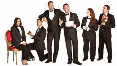 Gay affair: The cast of <i>Standing on Ceremony</i>.