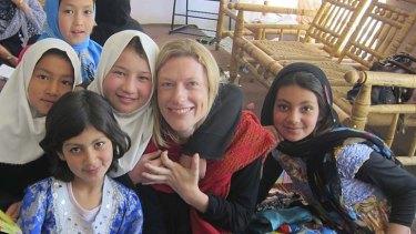 UNICEF's Johanna Cunningham in Kabul.