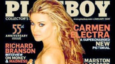 Calls for ban ... Playboy.