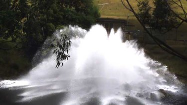 Water everywhere? Tarago, among the State Government's big water projects.