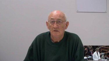 Notorious paedophile priest Gerald Ridsdale.