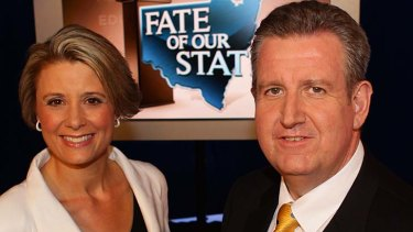Liberal Leader Barry O'Farrell needs a historic swing to beat Kristina Keneally.