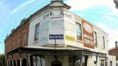 Trademark remnants remain in old working class neighbourhoods.