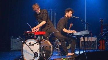 Number one music show at the Edinburgh Fringe Festival ... Tubular Bells for Two.