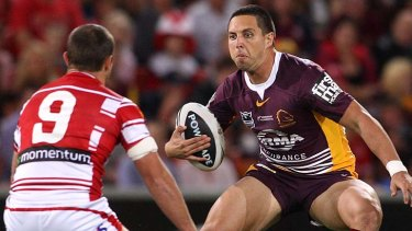 New Dragon ... Gerard Beale has signed with St George Illawarra