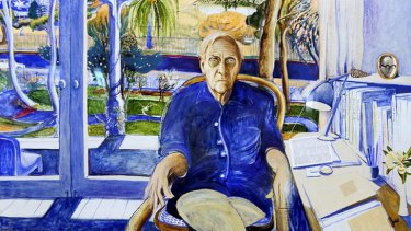 <i>Portrait of Patrick White at Centennial Park</i> by Brett Whiteley (part of the NSW parliament collection) will be on display at the National Portrait Gallery in May.
