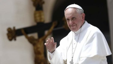 Compassionate friend: Pope Francis has been picking up the phone and offering comfort to people touched by disaster.