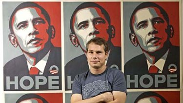 Picture this ... Shepard Fairey is being sued for using an AP photo in this poster.
