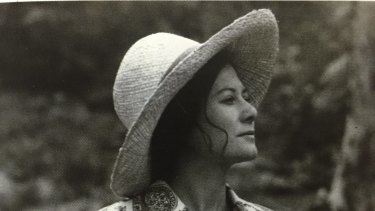 Valerie Olsen at Watsons Bay in the 1970s.
