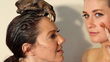 Justine Campbell and Sarah Hamilton, co-creators of award-winning 2013 Melbourne Fringe show <i>They Saw A Thylacine</i>. Campbell has been selected to join the Melbourne Theatre Company's Women Directors Program in 2015.