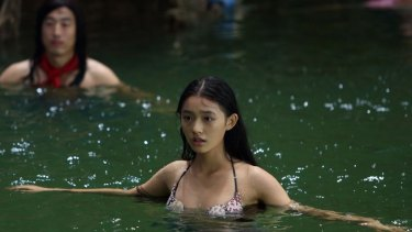Lin Yun in Stephen Chow's The Mermaid.