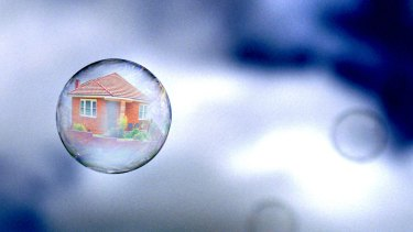 The Census results should ring alarm bells to start slowly tweaking tax and interest-rate policy so that the housing bubble slowly shrinks without popping. Photo: GREG NEWINGTON