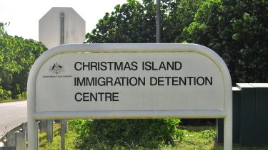 Christmas Island immigration detention centre is run by Serco.