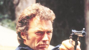 Do I feel lucky: Clint Eastwood in Dirty Harry. Police are embracing some US tactics but not necessarily this one.