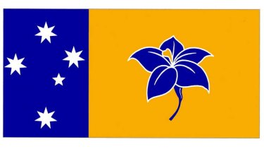 Ivo Ostyn's rejected design(s) for the ACT flag.