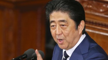 Japanese Prime Minister Shinzo Abe is looking to shore up the US-Japan alliance.