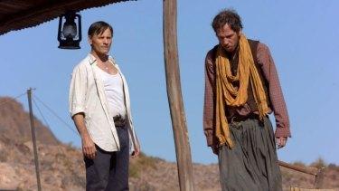 Viggo Mortensen, left, as Daru and Reda Kateb as Mohamed, who travel together in <i>Far from Men</i>.