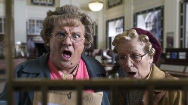 "Brendan O'Carroll stars as ""heart of Dublin"" Mrs Brown."
